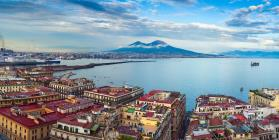 Naples and its bay B